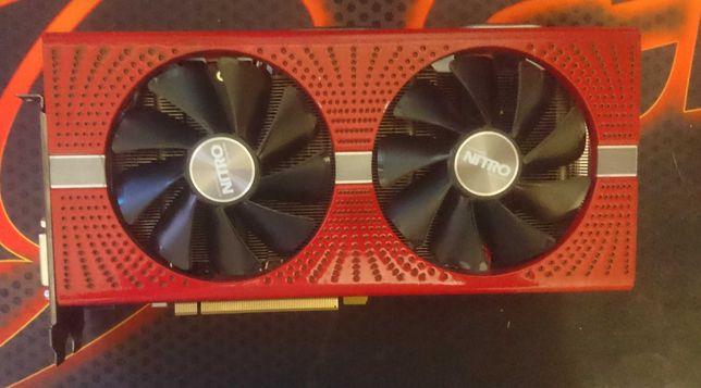 Sapphire Radeon RX 570 NITRO+ 8GB (донор)