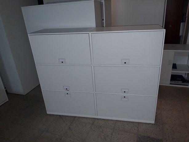 Szafa szafka metalowa biała super stan