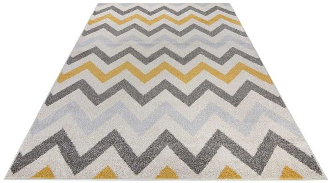 DYWAN 200 x 140 cm ZIG ZAG - Light Collection Waves Carpet For You