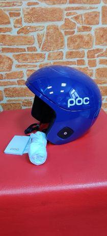 #181 Шлем горнолыжный POC Skull Orbic X Spin Lead Blue, L (CM) 57-58