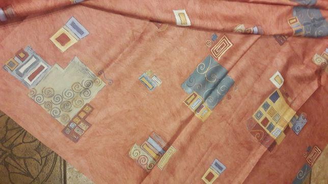Satyna wzorzysta 150 x235 materiał tkanina