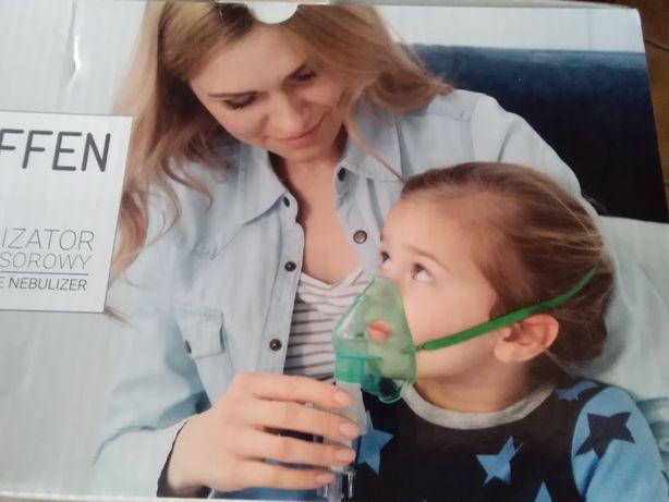 Nowy inhalator, nebulizator kompresowy Hoffen dla całej rodziny
