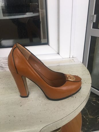 Туфли , натур кожа, р. 36,5-37