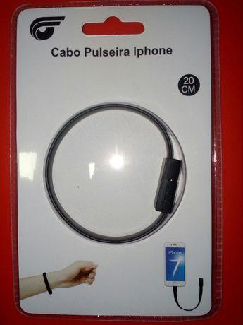 Cabo pulseira usb iphone