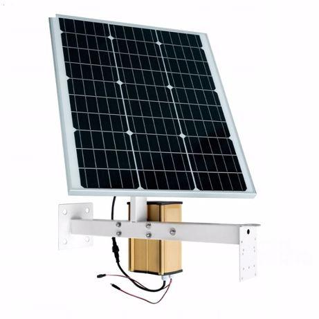 Panel Solarny z Baterią do Kamer GSM Monitoringu