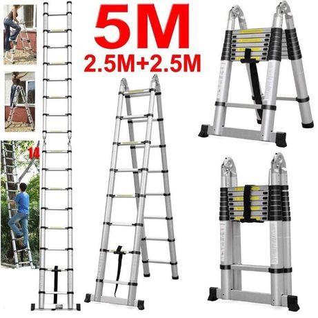 Alugo escada extensível 5m