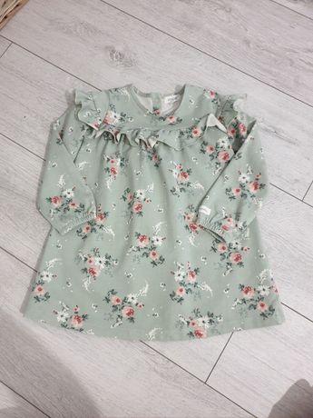 Newbie sukienka w kwiaty 98/104