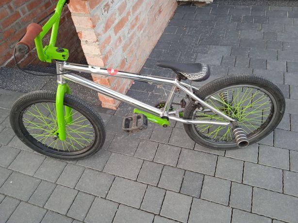 Rower BMX zielony