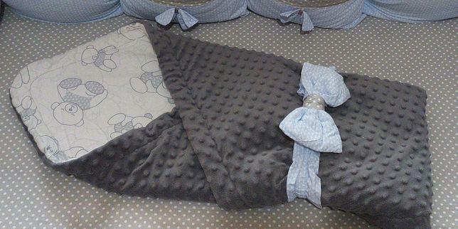 конверт-плед,одеяло с бантом для выписки самое оно!