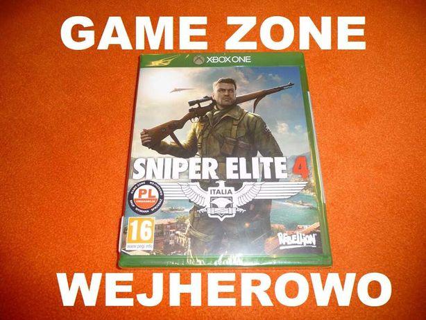Sniper Elite 4 Xbox One + S + X = PŁYTA PL Wejherowo