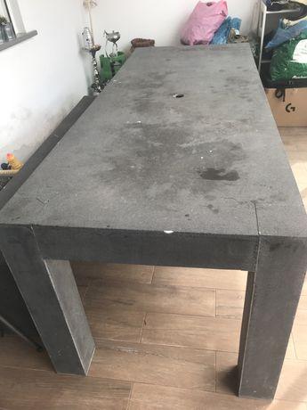 Mesa com 2 bancos de exterior SUPER resistente