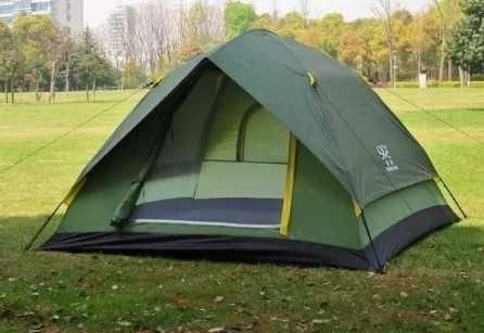 быстрая установка  - туристическая, демисезонная палатка / 8м местная