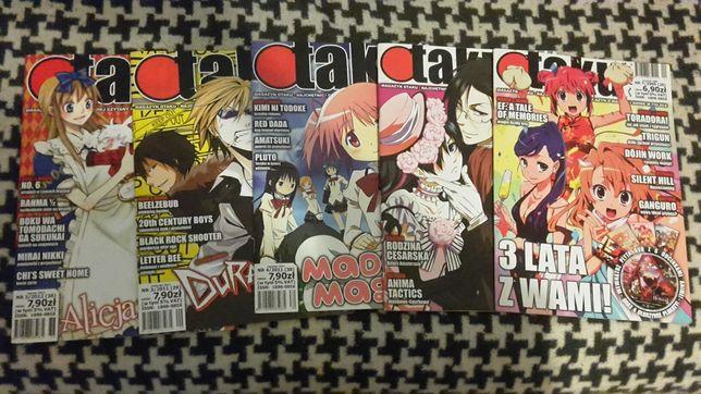 Magazyn czasopismo OTAKU KYAA gazeta anime manga gazetka arigato