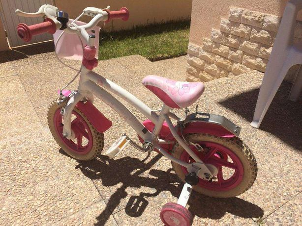 Bicicleta Hello Kitty 12 polegadas