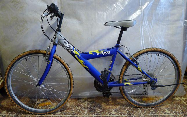 Велосипед подростковый Leader Fox Willy boy 24