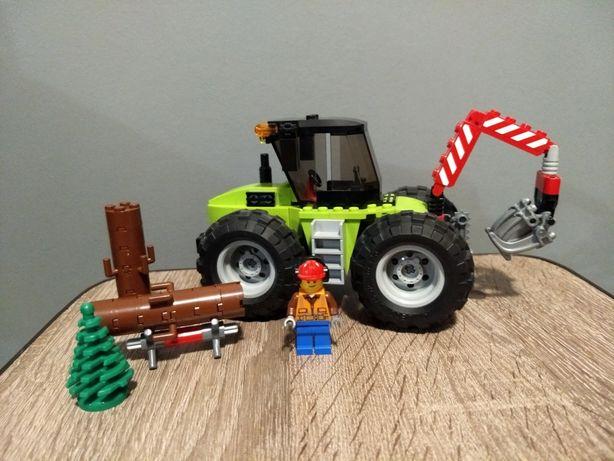 Lego City Лего Сити 60181 лесоповальный трактор