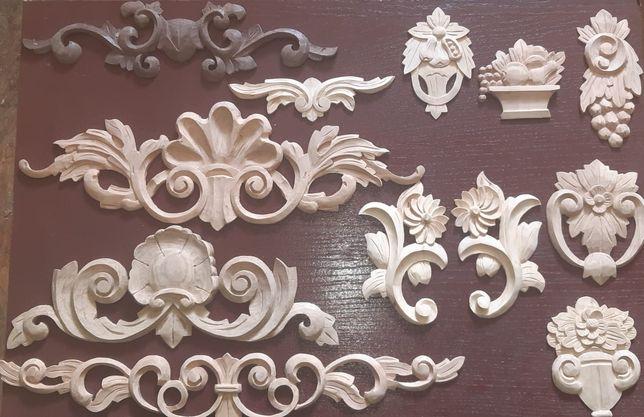 Ornamenty drewniane rzeźbione