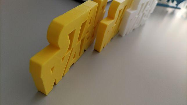 Logo Star Wars Impressão 3D - Entrega Imediata