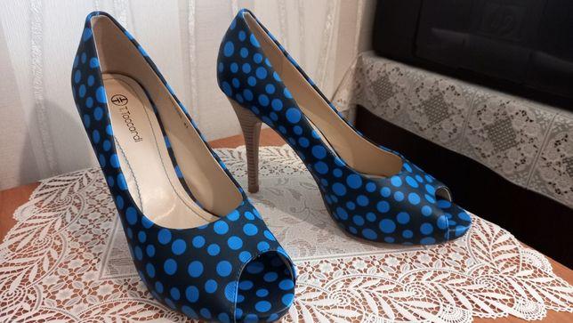 Туфли стильные с открытым носком