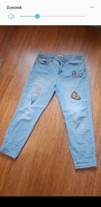 Mom jeans 40 wzory Warszawa - image 1