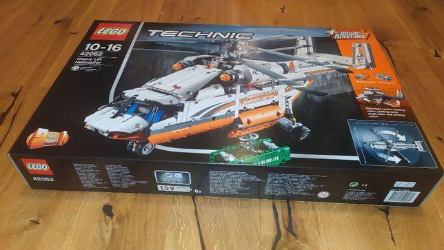 Lego Technic 42052 - Śmigłowiec towarowy, helikopter, NOWE PLOMBY