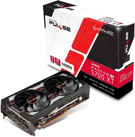 Sapphire RX 5700 XT 8G Pulse 8GB GDDR6