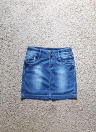 Юбка джинсовая красивая
