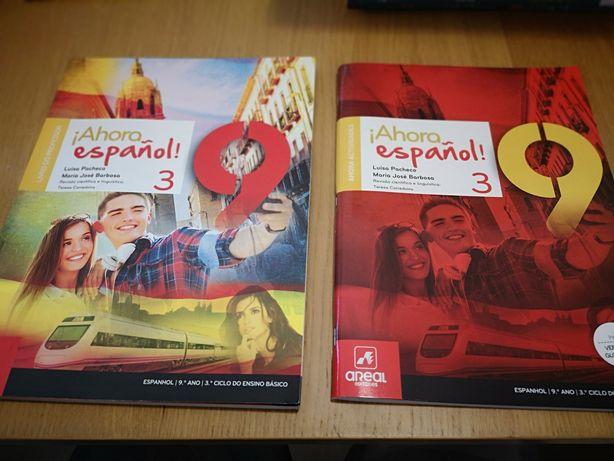 Ahora Español 9 - manual, caderno de atividades e pack prof - NOVO