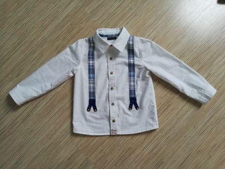 NEXT koszula i jeansy, r.98/104