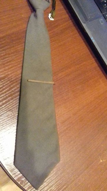 галстук НВП советский с зажимом