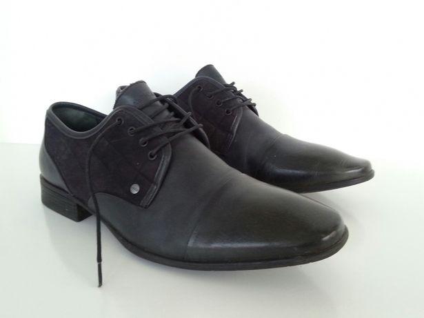 Buty męskie skórzane rozmiar 42