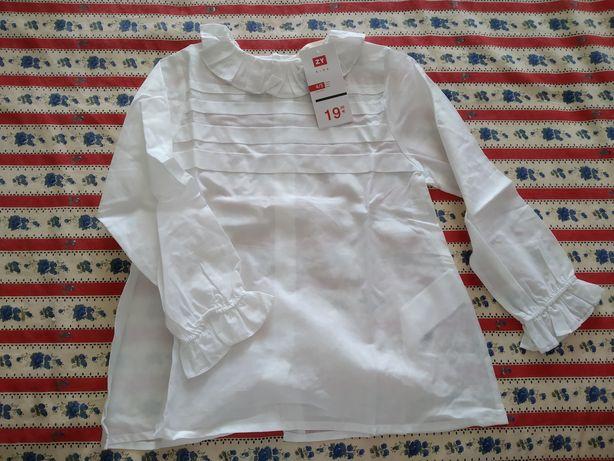 Camisa/Blusa com folhos - Novo