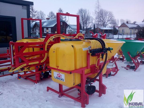 Opryskiwacz 600l litrów 15m zawór stałociśnieniowy stabilizacja belki