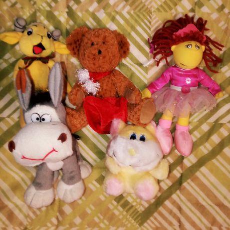 Мягкие игрушечки 5 шт. за 30 грн.