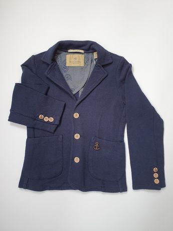 Шикарный трикотажный пиджак. Нидерланды. Scotch&Soda. 7-8 лет, 128 см.