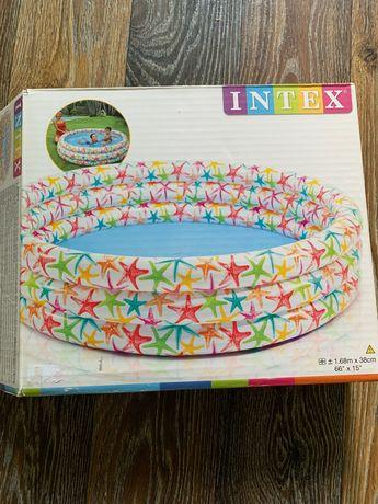 Intex бассейн надувной