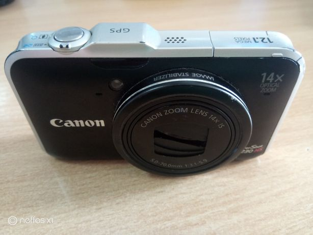 Фотоапарат canon sx230hs