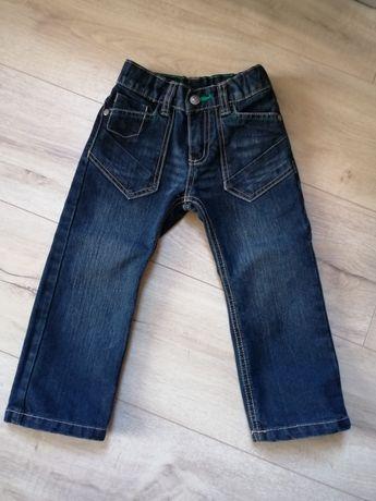 Spodnie jeansowe lupilu rozm 92