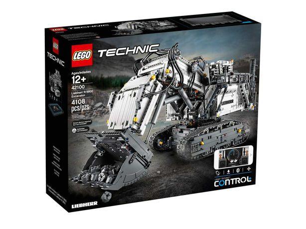 LEGO 42100 Technic - Koparka Liebherr R 9800. NOWE. Stan idealny