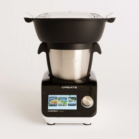 Robot de Cozinha CREATE CHEFBOT TOUCH + Cesta de Vapor