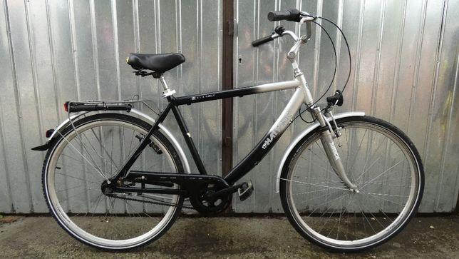 Rower HATTRICK - koła 28, Aluminium, 5 biegów, kontra, 2 x amortyzacja