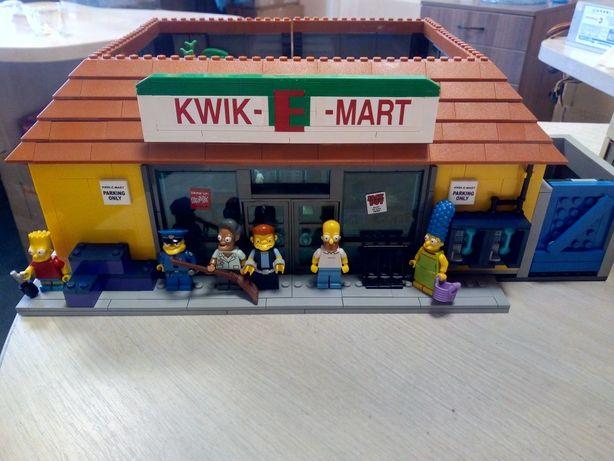 Lego Sipmsons 71006+71016 Дом Симпсонов и Кwik-E-mart