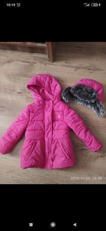 Płaszczyk zimowy kurtka zimowa dla dziewczynki Cool Club Smyk 92