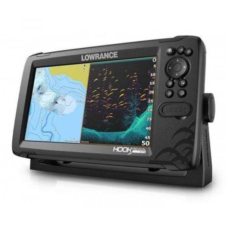 Lowrance Echosonda z GPS HOOK Reveal 9 Tripleshot