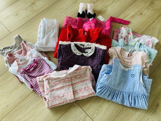 Paka ubran dla dziewczynki ~68