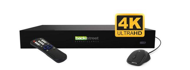новый 4K IP видеорегистратор PRO8NVR Backstreet Surveillance