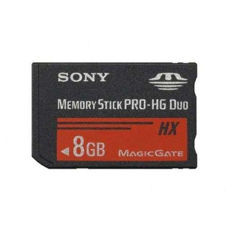 SONY Memory Stick Pro - HG Duo, 8GB HX MagicGate, Cartão Memória, Foto