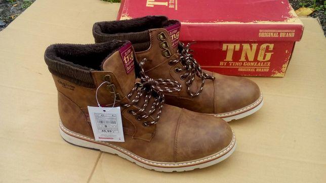Мужские осенние ботинки Tino Gonzalez Испания 42 р чоловічі ботинки