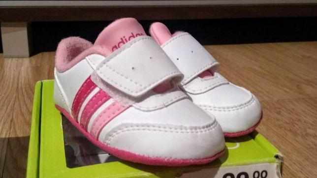 Różowe Adidasy Adidas Neo 17