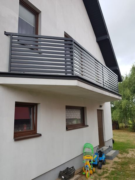 Balustrada balkonowa stalowa